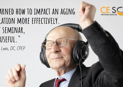 working with aging population