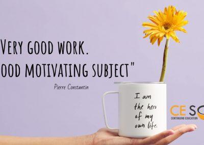 motivating ceu