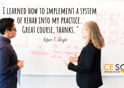 rehab training course
